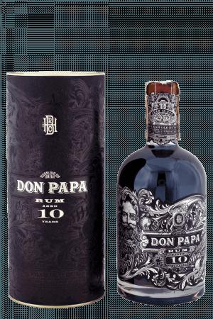 Don Papa 10-ročný + Tuba