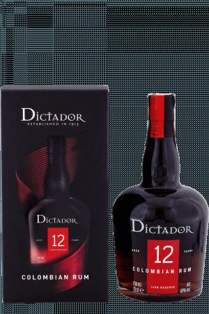 Dictador 12-ročný + Krabica