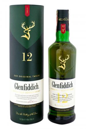 Glenfiddich 12-ročná + Tuba