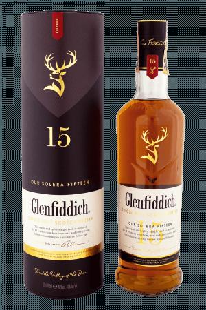 Glenfiddich 15-ročná + Tuba