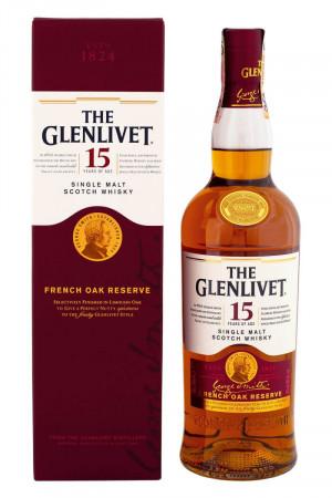 The Glenlivet 15-ročná French Oak Reserve
