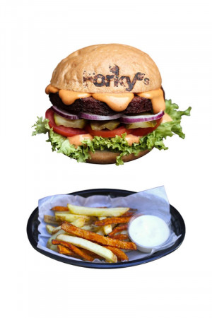 Forky's Burger Menu