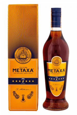 Metaxa 7* + Krabica