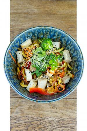 Udon so Zeleninou a Tofu